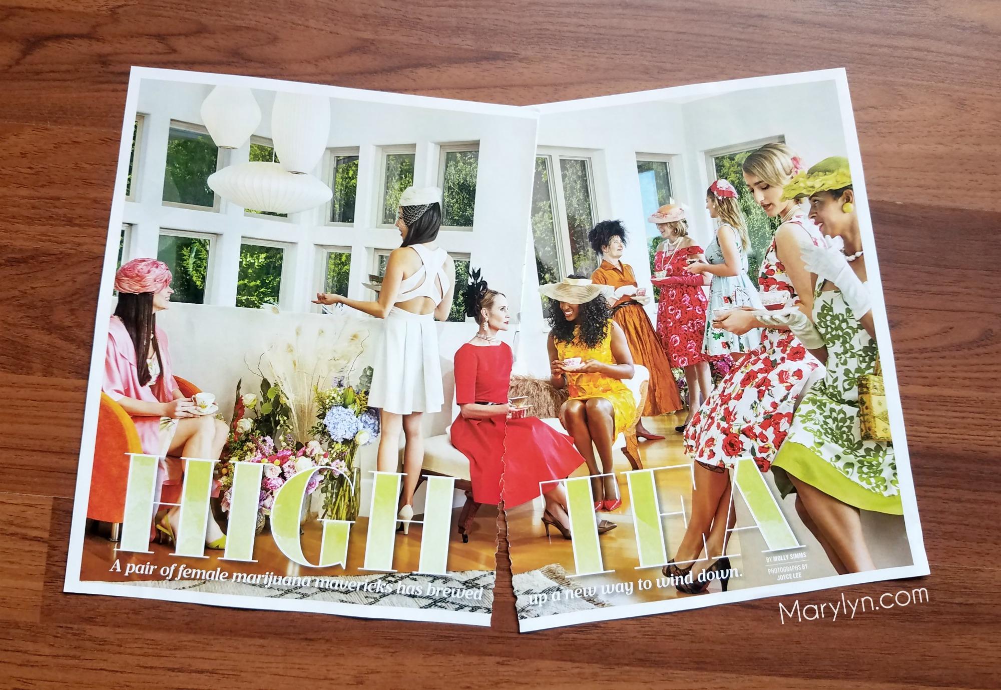 high tea magazine article