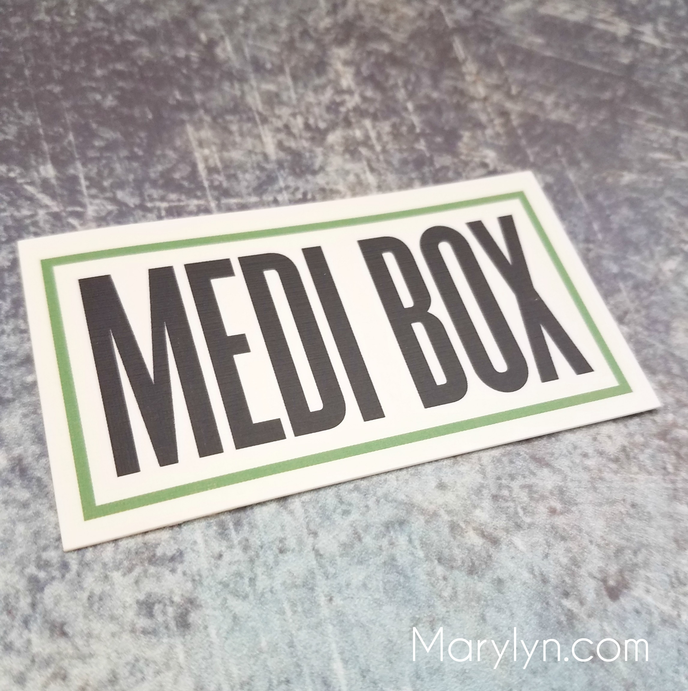 Medibox unboxing final