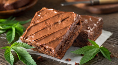 Marijuana edible effects